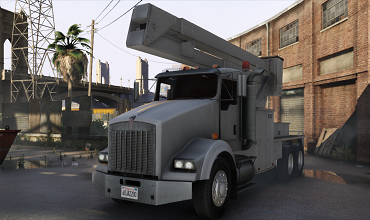 Kenworth T800 Utility Truck [Replace]