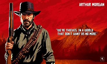Официальный пак артов Red Dead Redemption 2