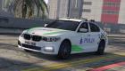 Police BMW 540i
