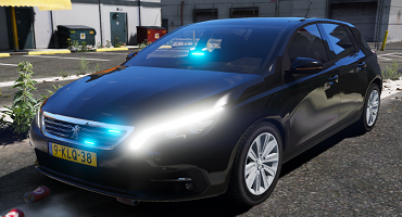 Unmarked Peugeot 308
