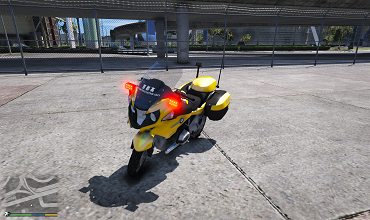 BMW R 1200RT NEXCO – Japanese Paintjob