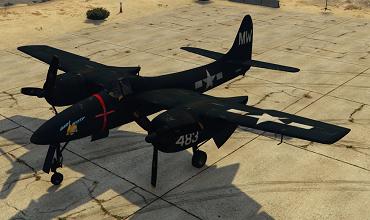 Grumman F7F-1 Tigercat [Add-On]