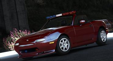 Mazda MX-5 Miata Police