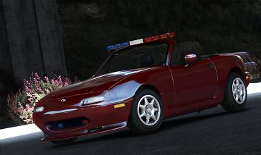 Mazda MX-5 Miata Police [Replace]
