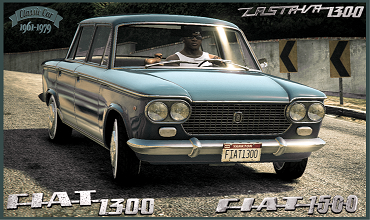 Fiat 1300 [Add-On / Replace]
