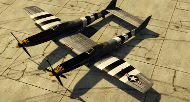 North American F-82E