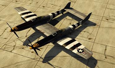 North American F-82E Twin Mustang [Add-On]
