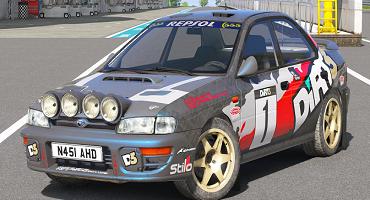 Subaru Rally Car