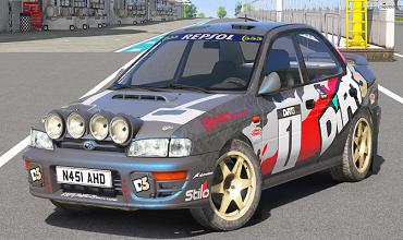 Vi's Subaru Rally Car [Add-On]