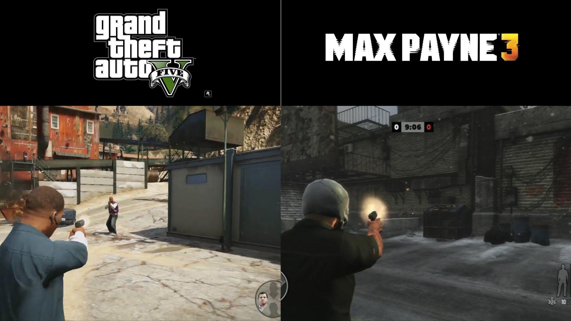 GTA 5 vs. Max Payne 3