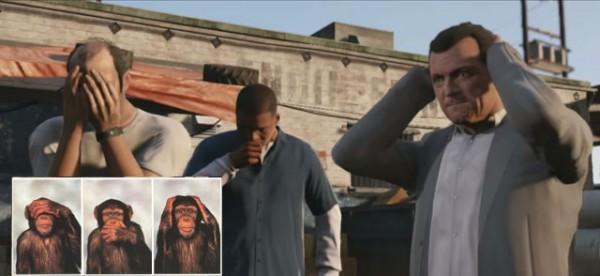 3 мудрых обезьяны