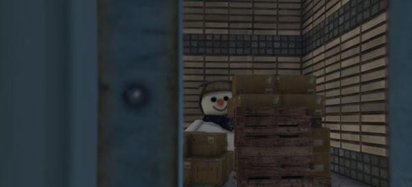 Снеговик в GTA 5
