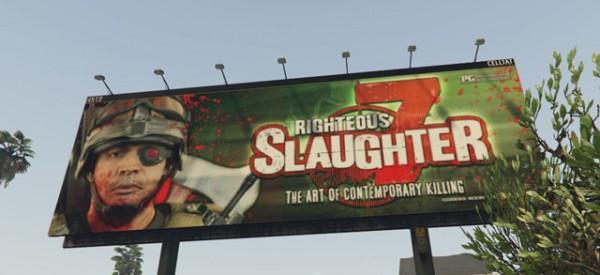 Отсылка на Call Of Duty в GTA 5