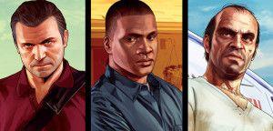 Главные герои GTA 5