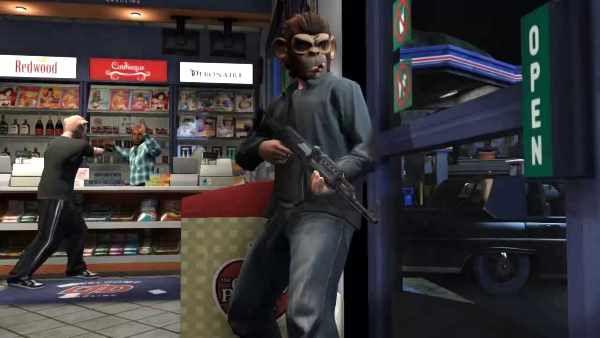 Грабежи магазинов в GTA Online