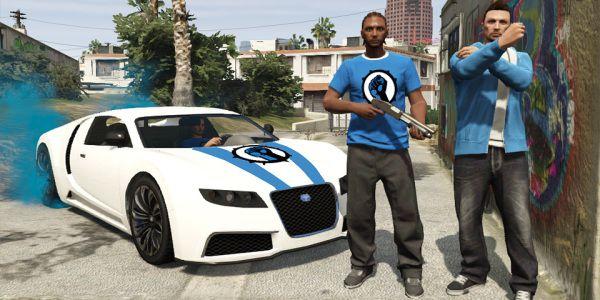 Как создать эмблему для банды GTA Online