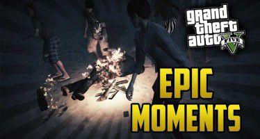Эпичные моменты в GTA 5