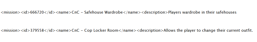 Cтрочки кода сценария