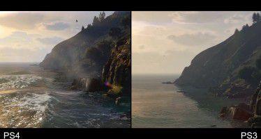 Более детальное сравнение GTA 5 на PS4 и PS3