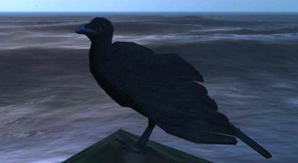 Птицы: Ворон в GTA 5