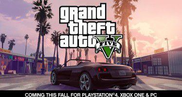 Grand Theft Auto V анонс PS 4, XBOX One и PC версии