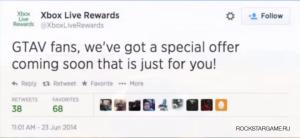 Специальное бонусное DLC GTA 5 для Xbox