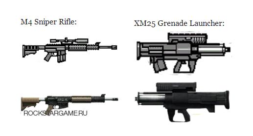 Утечка оружия для будущего DLC GTA Online