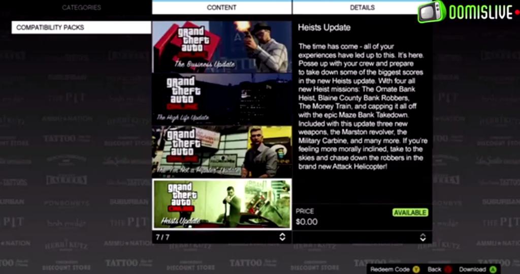 Ожидаемые DLC для GTA 5 Online