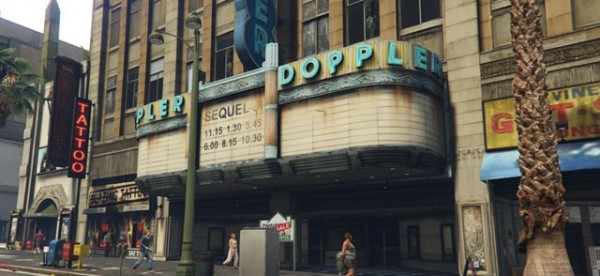 Cinema Doppler
