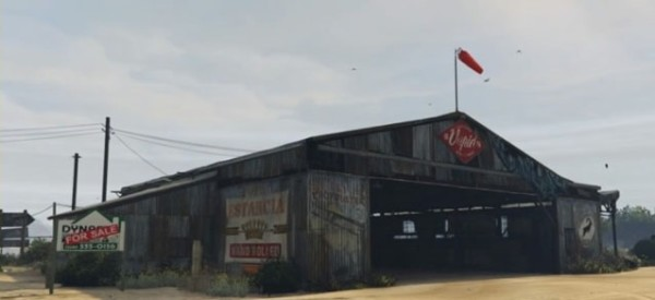 McKenzie Filed Hangar