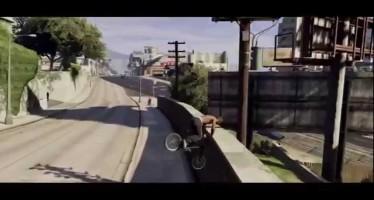 BMX stunt montage
