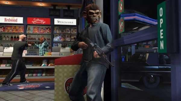 Ограбления GTA 5