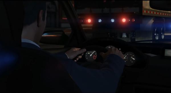 Режим от первого лица за рулем автомобиля в GTA 5
