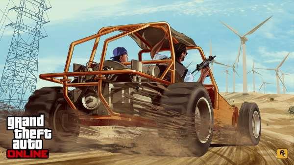 Новый хакерский мод в GTA Online: оранжевая «мельница» уничтожает автомобили и заводит игроков в ловушку