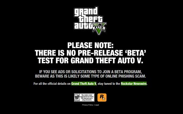 GTA 5 Beta