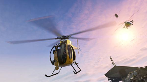 Rockstar утвердила 10 фанатских работ для DLC Летная школа в GTA Online