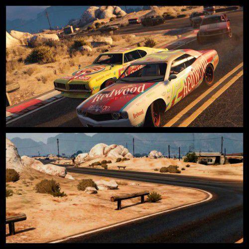 Сравнение скриншотов PS4 и PS3 версии GTA 5