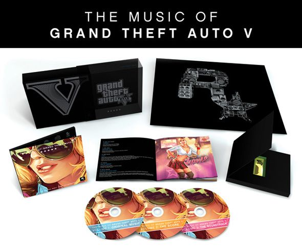 Rockstar объявила о выпуске ограниченным тиражом саундтрека к GTA 5 на виниловых пластинках и CD