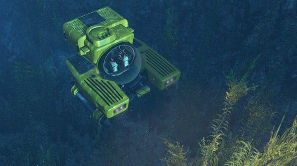 подводная лодка Кракен