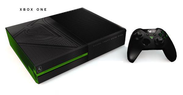 Подарок от Rockstar Games: PS4 и Xbox One, выполненные в тематике GTA V. Выглядят просто шикарно