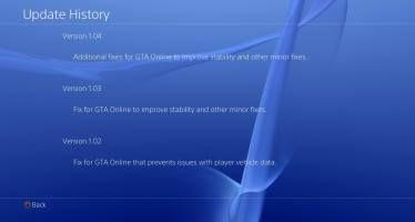 Патч 1.04 для GTA 5 доступен для скачивания на PS4