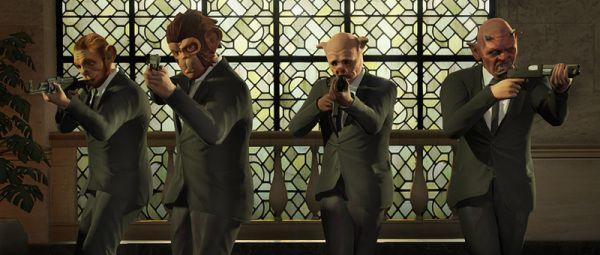 Ограбления Heist GTA 5 Online