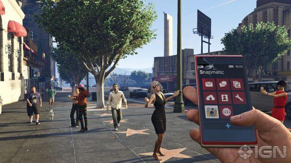 телефон от первого лица GTA 5