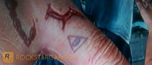 Татуировка «всевидящее око»