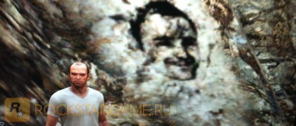 Изображение лица на одной из сторон Чилиада