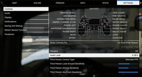 Появилась возможность изменить настройку «мертвой зоны» в GTA 5 Online