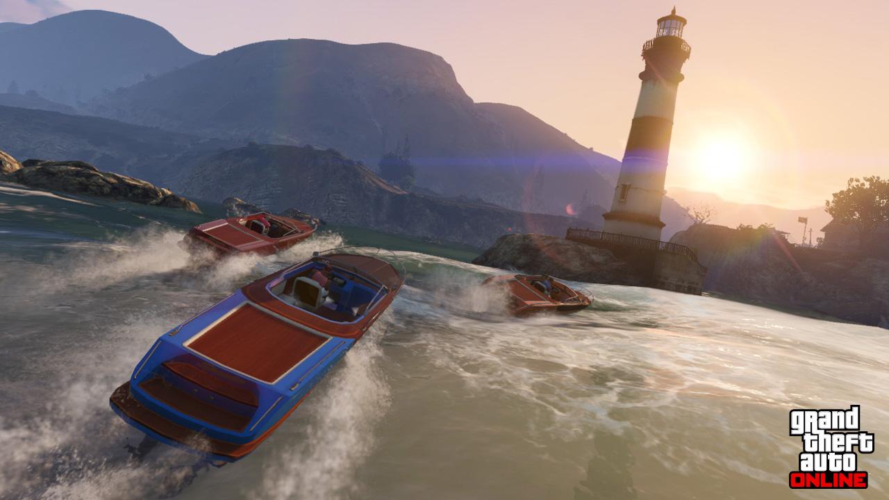 В GTA V не появляются гонки на воде