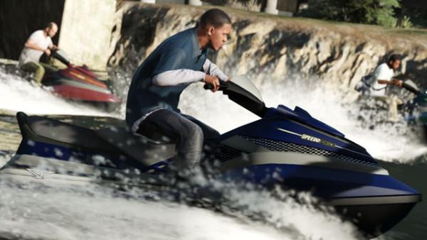 Гонки в море GTA 5