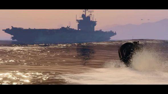 авианосец GTA 5