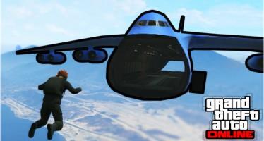 Прыжки с парашютом в GTA 5